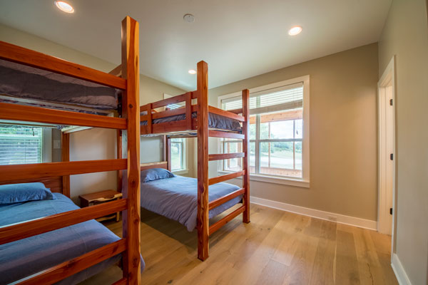 Bunk Room in Main Lodge, Perfect For Family and Friends