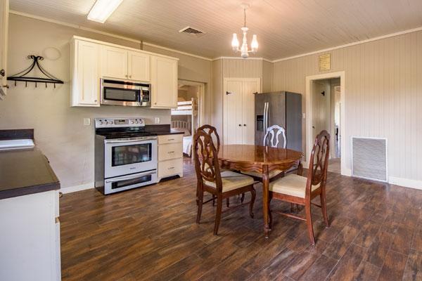 Cottonwood Lodge Kitchen at Rancho Madrono