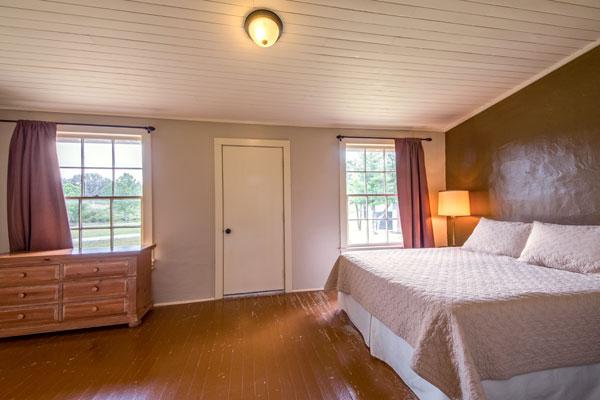 Master Bedroom at the Cottonwood Lodge, Rancho Madrono