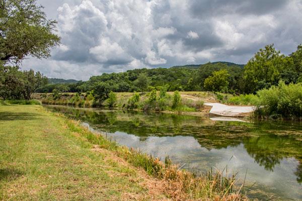 Creek Lodge View of Creek at Rancho Madrono