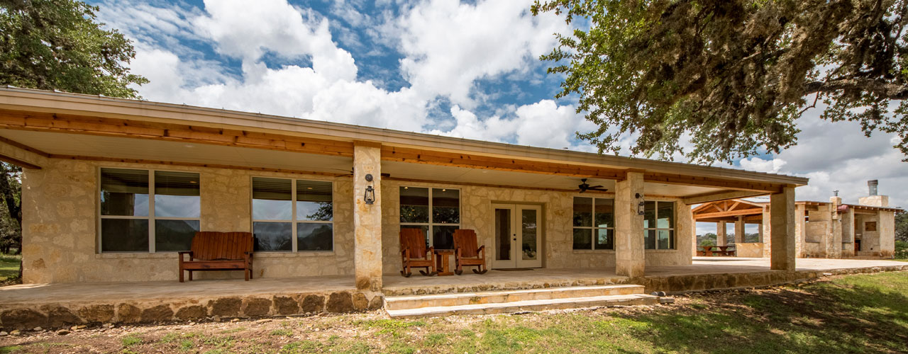Main House Exterior at Rancho Madrono