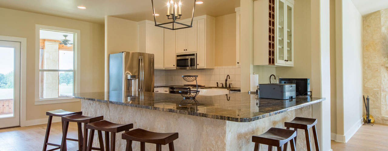 Kitchen in Luxury Hunting Cottage, Rancho Madrono