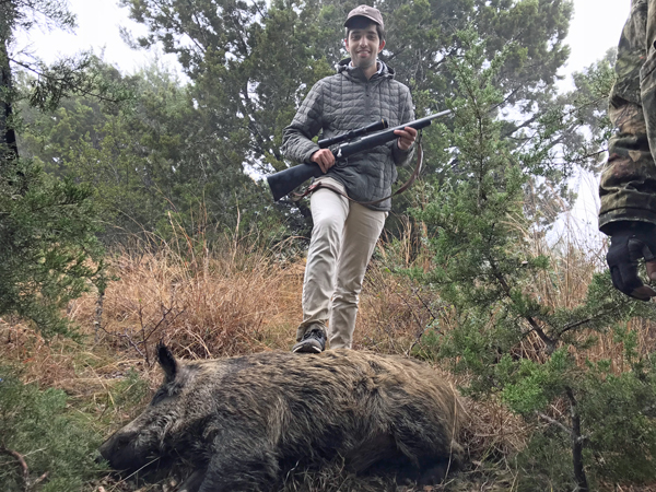 Texas Wild Hog Hunts at Rancho Madrono