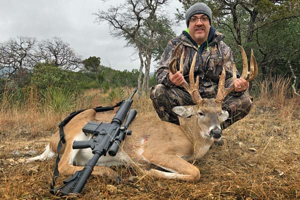 Trevino Whitetail Deer Buck Hunt
