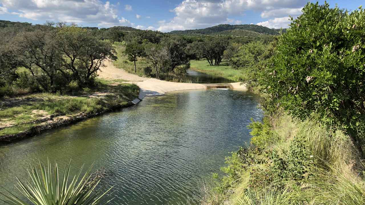 Texas Hunting Ranch with Live Water Creek