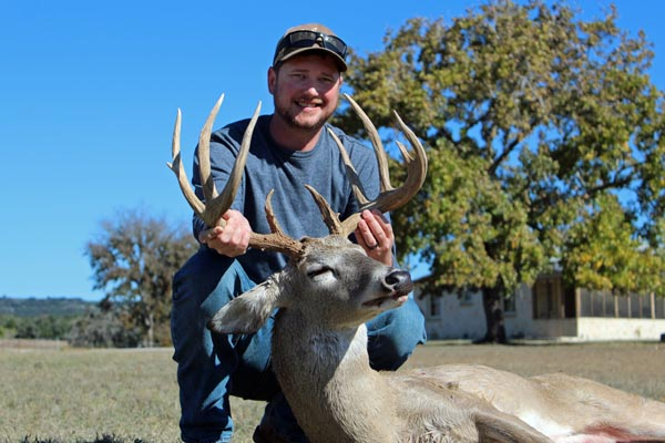 Big Whitetail Buck harvested on a November 2019 Hunt
