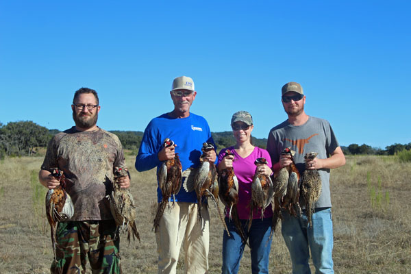 Pheasant Hunts a Private Ranch in Texas
