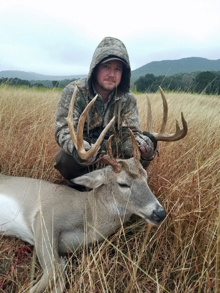 Tyler with a 145 Score, 9 Point Buck