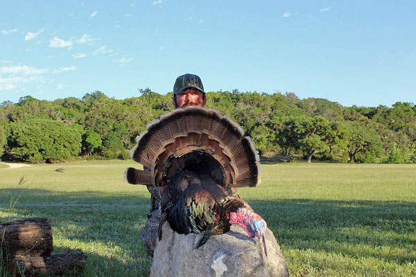 1st Bird of Spring Turkey Hunt in Texas Hill Country
