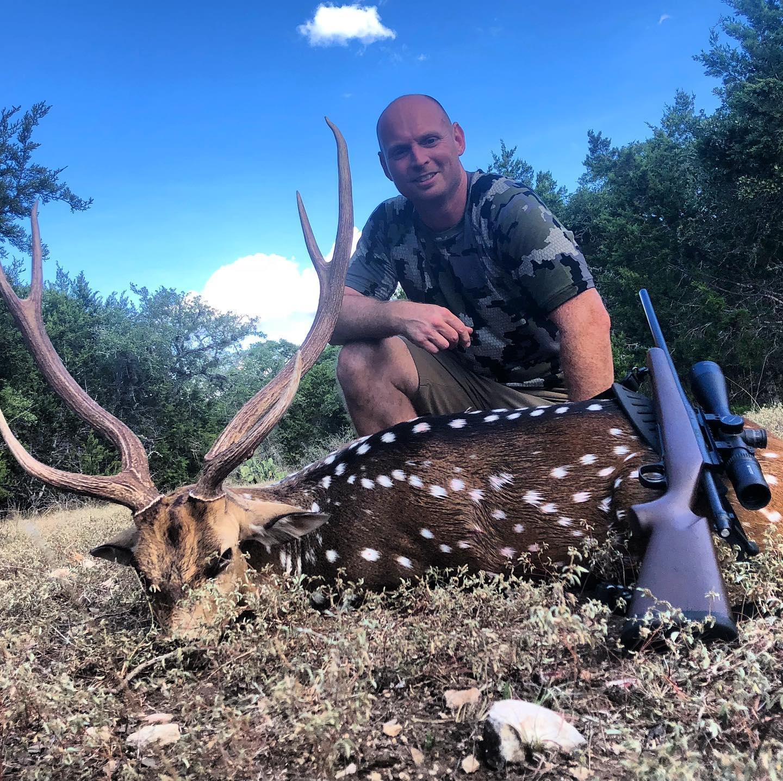 Axis hunts at Rancho Madrono