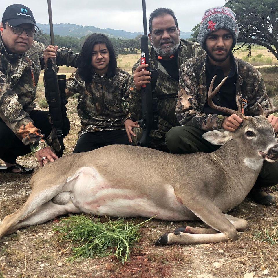 Family Hunt for Whitetail Buck